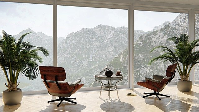 Apartmán, veľké sklá, výhľad na hory.jpg