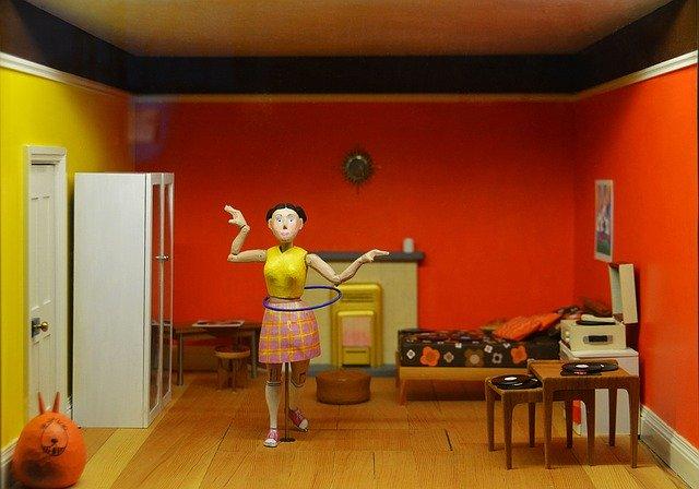 Bábika, interiér