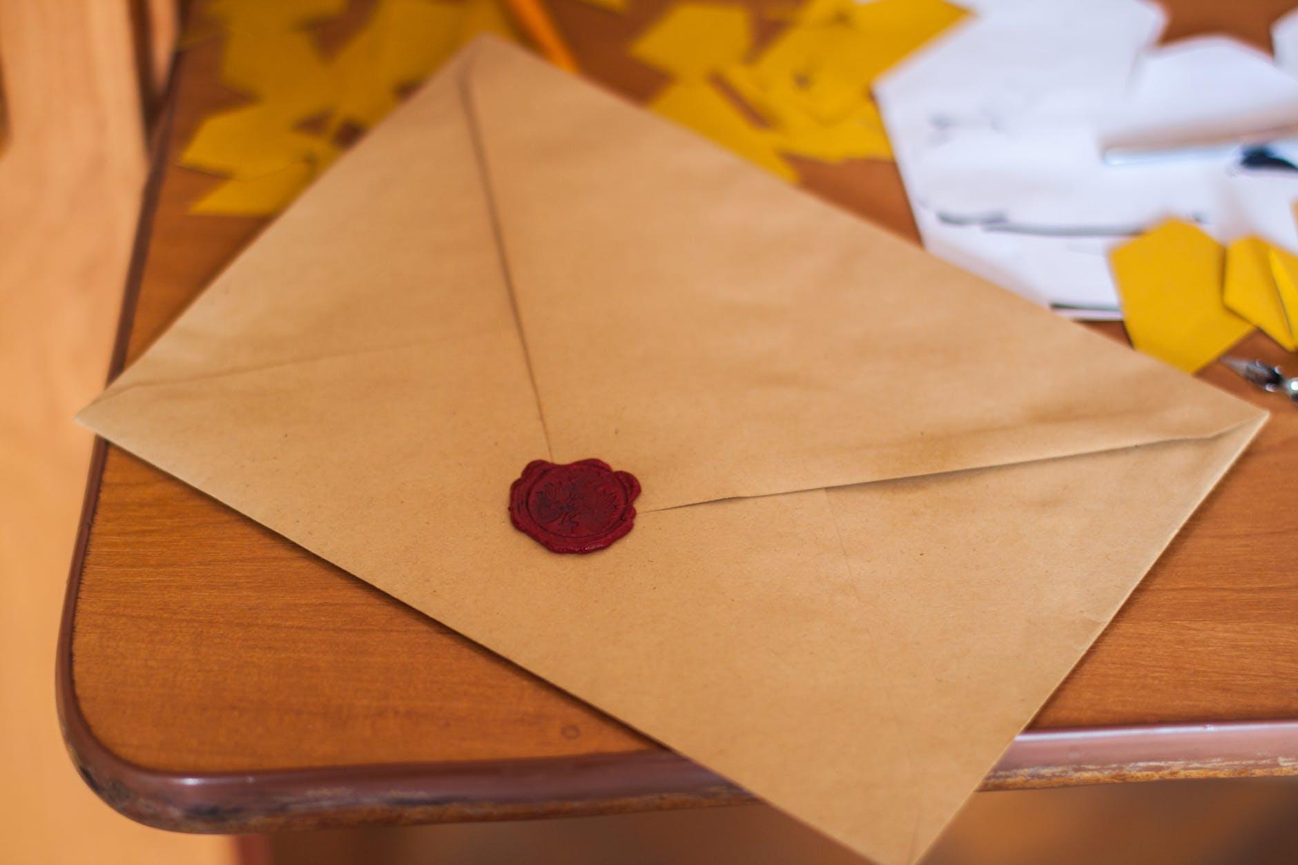 poštová obálka